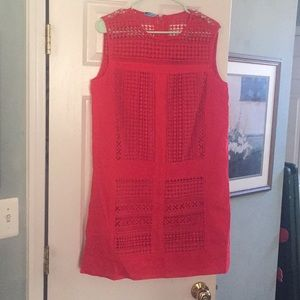 Dark pink summer dress by J Crew